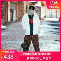 NOBADAY 教练夹克滑雪服防水保暖男女款单双板户外滑雪服装备 *5件