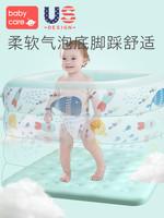 babycare嬰兒游泳池家用加厚超大號小孩兒童充氣游泳桶寶寶泡澡桶