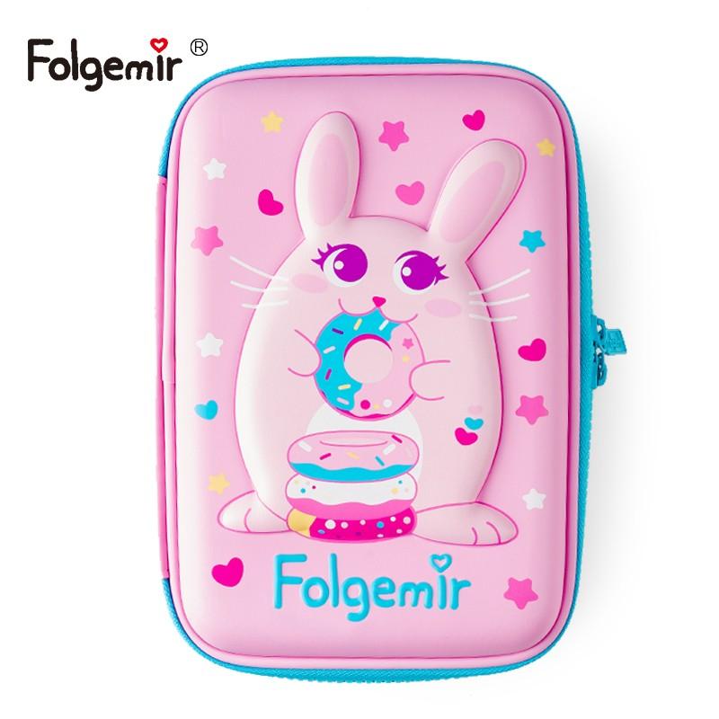 Folgemir 跟我来 EVA浮雕文具盒 福兔大款 15*22cm