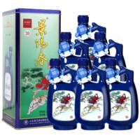 景芝 景阳春 39度 浓香型白酒 500ml*6瓶 *2件