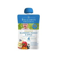 凑单品:BELLAMY'S 贝拉米 有机芒果蓝莓苹果泥 120g