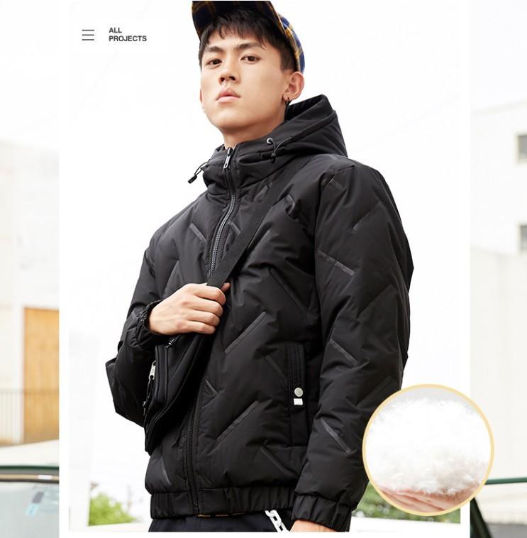 InteRight WSL-639 男士短款加厚棉服