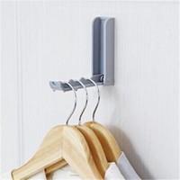 桫椤 家用隐形壁挂挂衣架粘钩 2个装