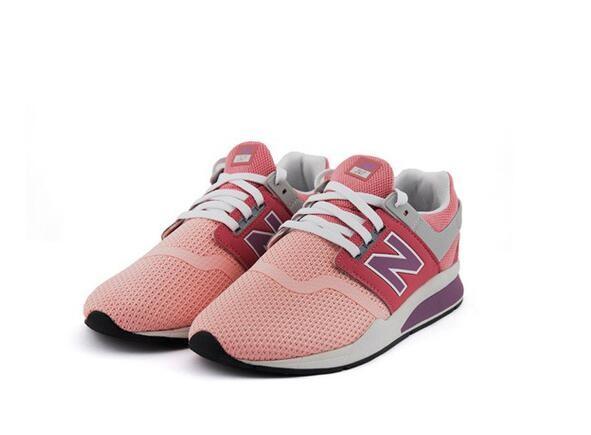 new balance 女童运动鞋 时尚粉 KL247HWG