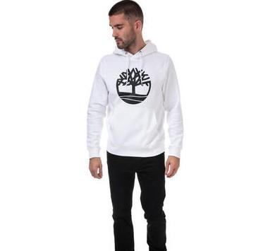 Timberland Mens Big Brand Core Logo Hoody 男士卫衣