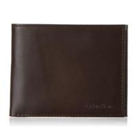 Calvin Klein 卡尔文·克莱 RFID Blocking 男士皮革对折钱包