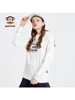 Paul Frank/大嘴猴2019秋季新款卫衣女ins连帽休闲宽松纯棉印花