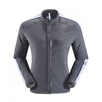 凯乐石新款 户外运动女款舒适透气时空纱格夹克运动风卫衣外套