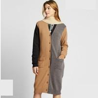 UNIQLO 优衣库 421623 设计师合作款 羊毛混纺长开衫