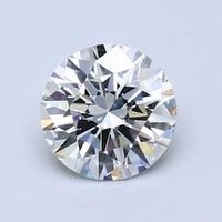 Blue Nile 1.03克拉 圆形切割钻石(切工EX,成色G,净度VVS2)