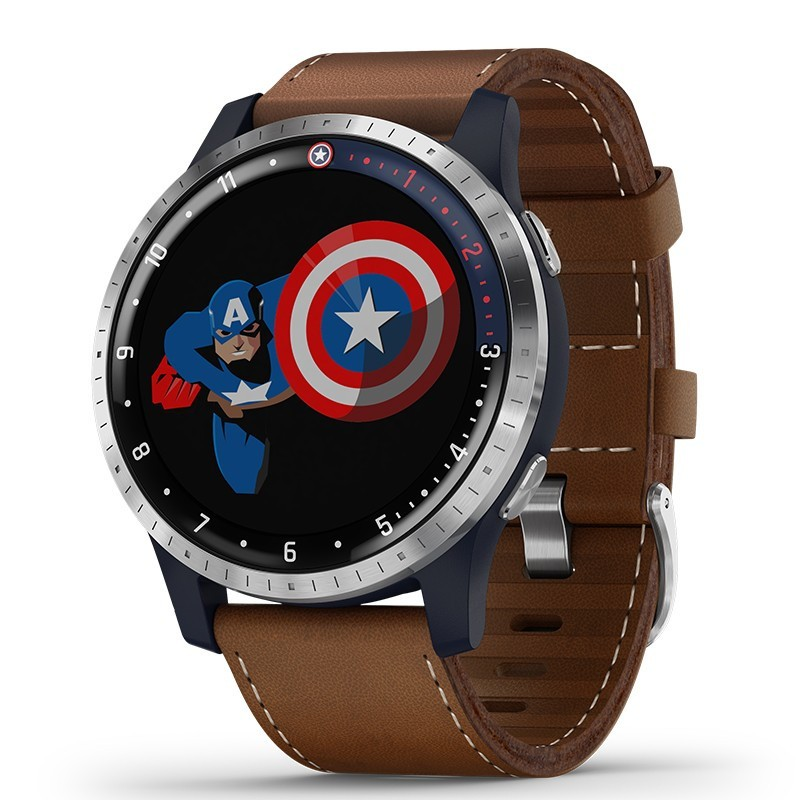 Garmin 佳明 Legacy Hero系列 漫威英雄联名款 美国队长 智能手表
