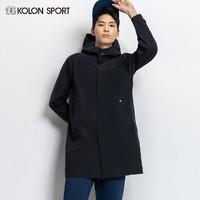 KOLONSPORT可隆冲锋衣男 春夏新品户外防风中长款夹克保暖外套男