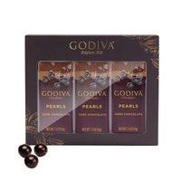 京东PLUS会员:GODIVA 歌帝梵 黑巧克力豆 3罐装礼盒 129g+雀巢 Nido 脱脂 高钙奶粉400g*2袋