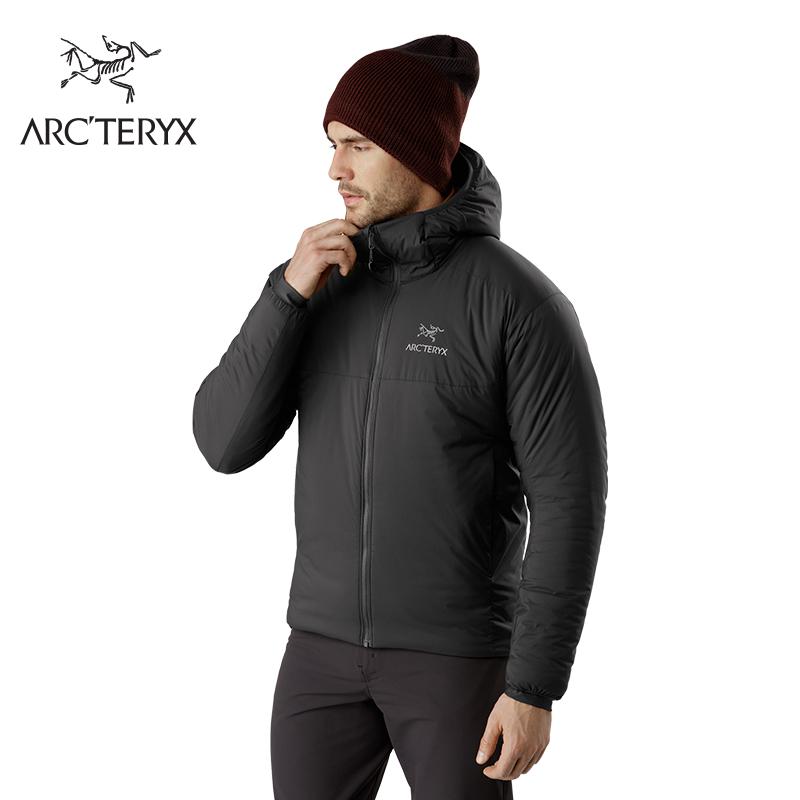 ARC'TERYX 始祖鸟 Arcteryx 始祖鸟 男款棉服连帽衣 Atom AR Hoody  14648 (黑色、S)
