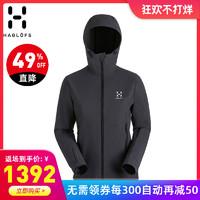 火柴棍HAGLOFS戶外女裝防水防風彈力透氣軟殼衣夾克603371