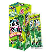泰國進口 熊貓先生芝麻顆粒海苔紫菜卷 原味18g *21件