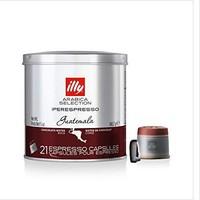 illy咖啡胶囊 危地马拉单品六罐一组 illy Iperespresso Guatemala, 6er Pack (6 x 140.7g) *6件
