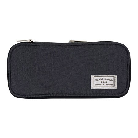 KOKUYO 国誉 NOViTA-R WSG-PC122-DM 竖款笔袋 中号 深灰色
