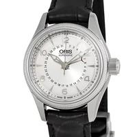 銀聯專享 : ORIS 豪利時 Big Crown 航空系列 01-594-7680-4061-07-5-14-76FC 女士機械腕表