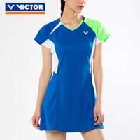 VICTOR/威克多羽毛球服連衣裙女款顯瘦運動 71306