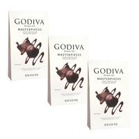 Godiva 歌帝梵 心形软心夹心丝滑黑巧克力 415g*3袋