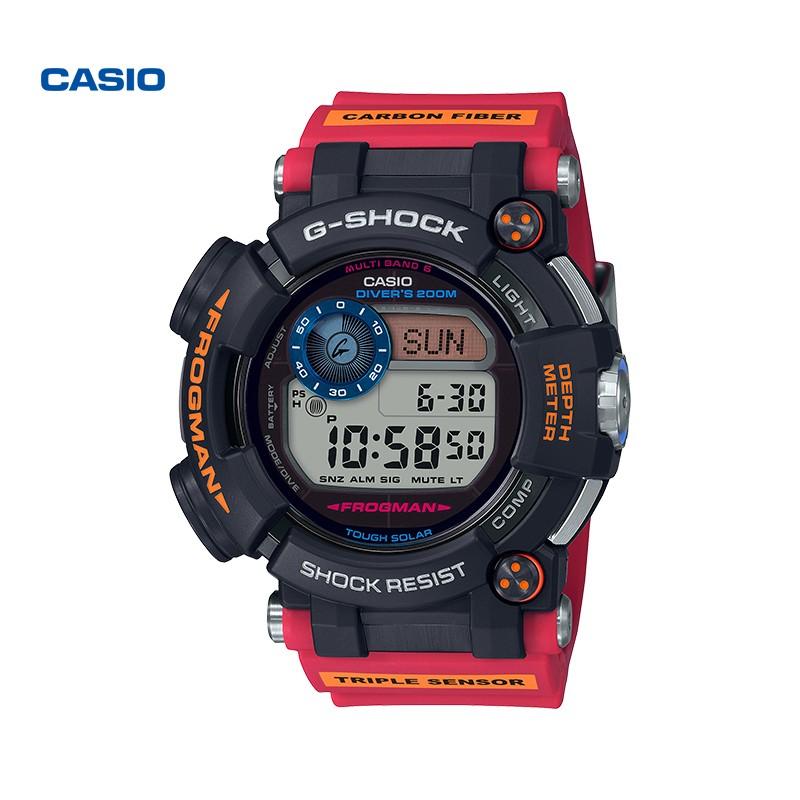 CASIO 卡西欧 G-SHOCK GWF-D1000A 蛙人 南极调查ROV合作款 运动腕表