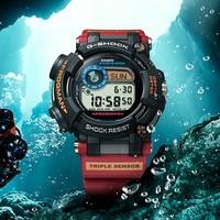 新品发售:CASIO 卡西欧 G-SHOCK GWF-D1000A 蛙人 南极调查ROV合作款 运动腕表