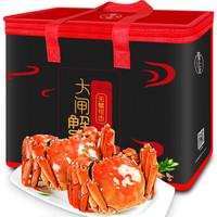 隆上记 大闸蟹现货 鲜活礼盒 公3.8-4.1两 母2.6-2.9两 8只装