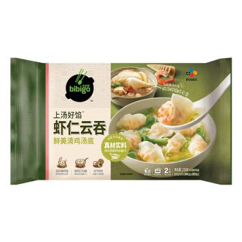必品阁(bibigo)虾仁云吞 鲜美清鸡汤底 230g 晚餐馄饨 儿童早餐 方便菜