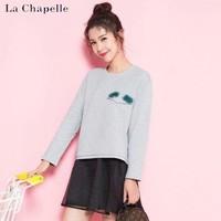 La Chapelle 拉夏贝尔 60004928 女士原宿风卫衣