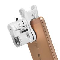 致旗 迷你手机显微镜 60倍 电池款
