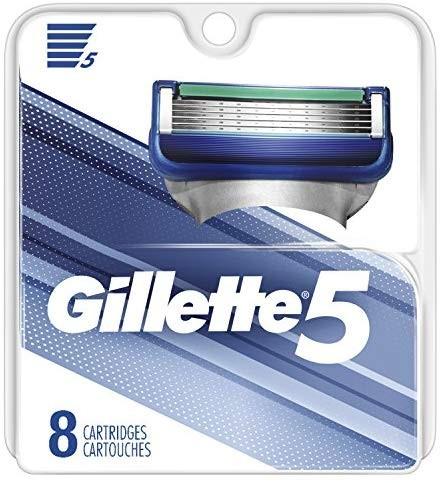Gillette 吉列 男士5片剃须刀替换装(8件装)