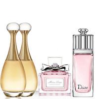 Dior 迪奥 香水小样4件套(真我5ml*2+甜心5ml+魅惑5ml)