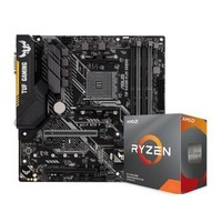 AMD 銳龍 Ryzen5 3500X CPU處理器 + ASUS 華碩 TUF B450M-PLUS GAMING 電競特工 主板套裝