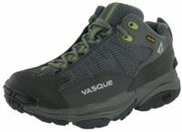 """Vasque 女式""""Velocity GTX ST""""徒步鞋,青金屬/草本綠色,38 碼"""