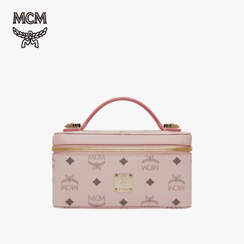 MCM 2020春夏新品 VISETOS ORIGINAL 女士迷你化妆箱