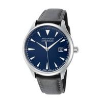 MOVADO 摩凡陀 Heritage 3650054 男士 40mm Blue Dial Leather 手表
