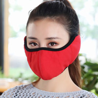 學生棉質口耳一體罩
