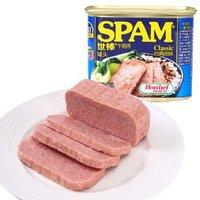 SPAM 世棒 午餐肉罐头 经典原味/黑胡椒味 340g *14件