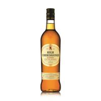 有券的上:HIGH COMMISSIONER 高司令 调配型苏格兰威士忌 700ml *4件