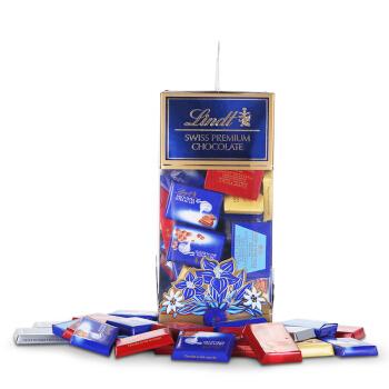 瑞士莲(Lindt)瑞士精选巧克力 - 分享装500g(缤纷小块)