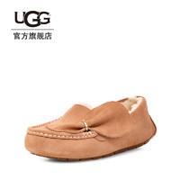 UGG2019春季女士別致蝴蝶結款安思麗休閑便鞋毛單鞋1099927