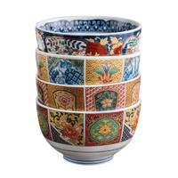 Mino Yaki 美浓烧 家用陶瓷餐具 釉下彩套碗