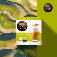 Nestlé 雀巢 Dolce Gusto 多趣酷思 卡布奇诺胶囊咖啡 16颗 *2件