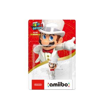 Nintendo 任天堂 amiibo 马力欧 婚礼造型