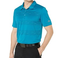 Adidas 阿迪达斯 plaid key 男士polo衫