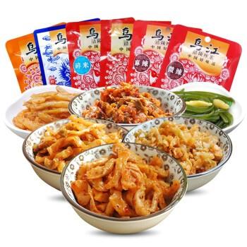 乌江 涪陵榨菜 6种口味 18袋装 约1.26kg