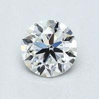Blue Nile 1.00克圆形切割钻石(切工VG 成色F色 净度VVS2)
