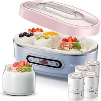 小熊酸奶機家用全自動玻璃納豆機陶瓷內膽分杯 SNJ-A15K1