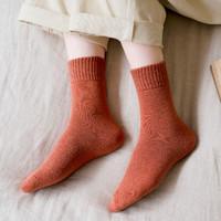 风火雨林 女士中筒毛圈棉袜 5双装